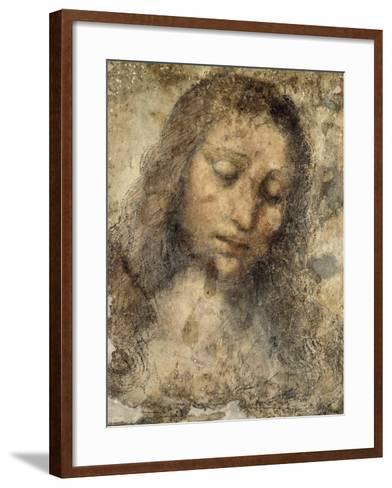 Face of Jesus Christ--Framed Art Print