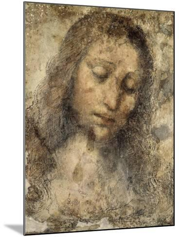 Face of Jesus Christ--Mounted Giclee Print