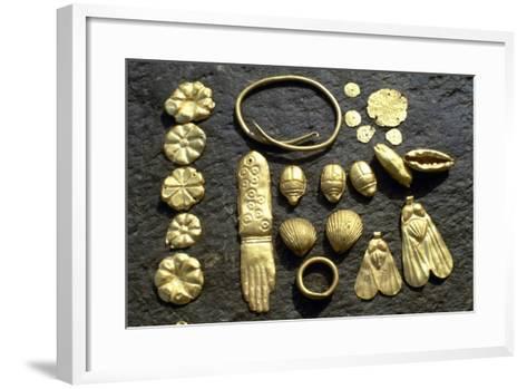 Gold Grave Goods--Framed Art Print