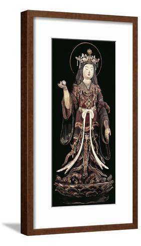 Kichijoten, Goddess of Beauty, Fertility and Prosperity, Statue, Japan, Heian Period, 12th Century--Framed Art Print