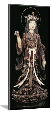 Kichijoten, Goddess of Beauty, Fertility and Prosperity, Statue, Japan, Heian Period, 12th Century--Mounted Giclee Print