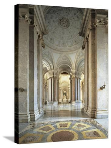 Entrance Gallery and Vestibule on the First Floor--Stretched Canvas Print