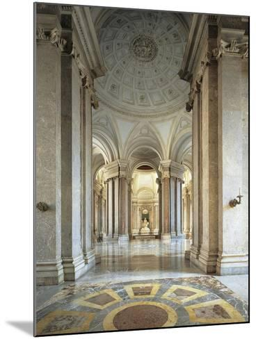 Entrance Gallery and Vestibule on the First Floor--Mounted Giclee Print
