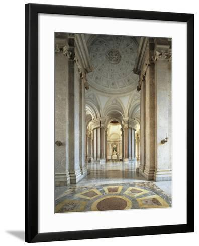 Entrance Gallery and Vestibule on the First Floor--Framed Art Print