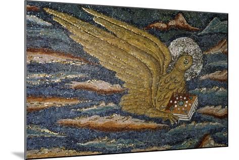 Eagle--Mounted Giclee Print