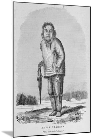 Anvik Stareek or 'One More Leaf of Tobacco', from 'Alaska and its Resources'--Mounted Giclee Print