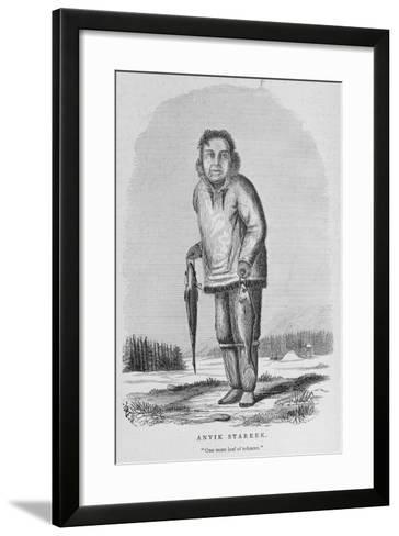 Anvik Stareek or 'One More Leaf of Tobacco', from 'Alaska and its Resources'--Framed Art Print