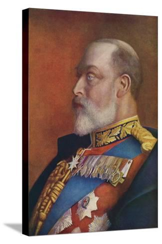 Edward VII--Stretched Canvas Print
