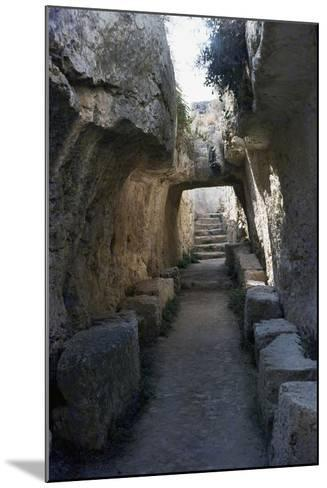 Passageway--Mounted Giclee Print