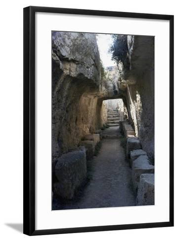 Passageway--Framed Art Print