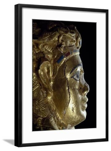 Mummy Uncovered in Tomb No 54--Framed Art Print