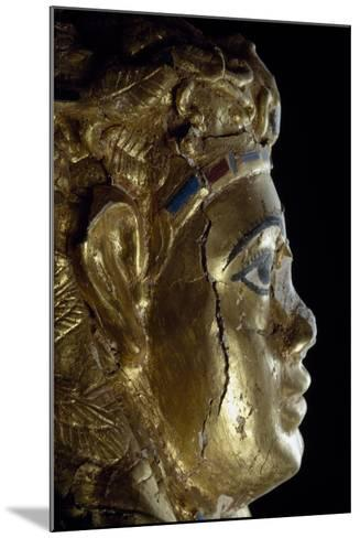 Mummy Uncovered in Tomb No 54--Mounted Giclee Print