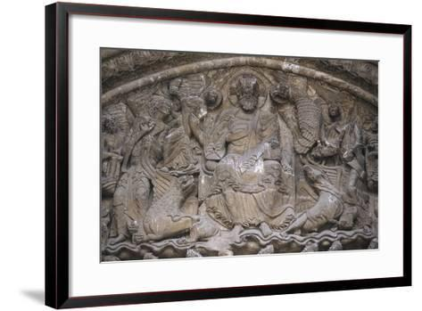 Tympanum of the South-West Portico--Framed Art Print