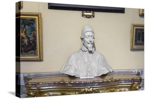 Portrait on Pope Alessandro Vii Chigi--Stretched Canvas Print