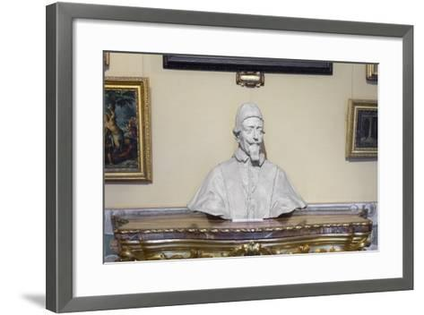 Portrait on Pope Alessandro Vii Chigi--Framed Art Print