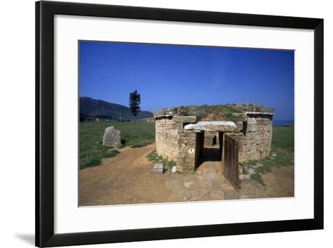 Tomb of Cylindrical Ciboria--Framed Art Print