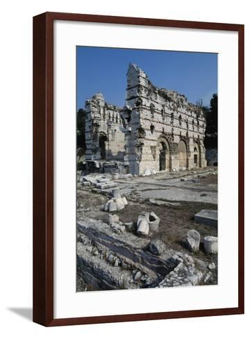 East Wall of the Frigidarium--Framed Art Print