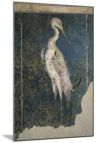 Flamingo in a Swamp from the House of Love and Pan--Mounted Giclee Print