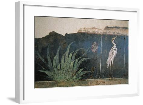Flamingo in a Swamp from the House of Love and Pan--Framed Art Print