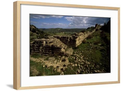 Ruins of Fortifications--Framed Art Print
