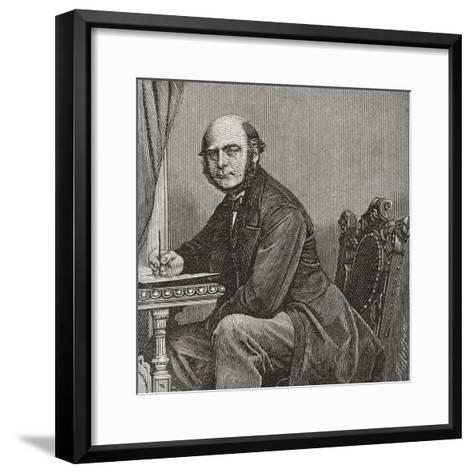 Sir Francis Galton--Framed Art Print