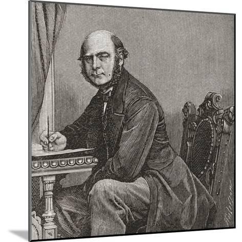 Sir Francis Galton--Mounted Giclee Print