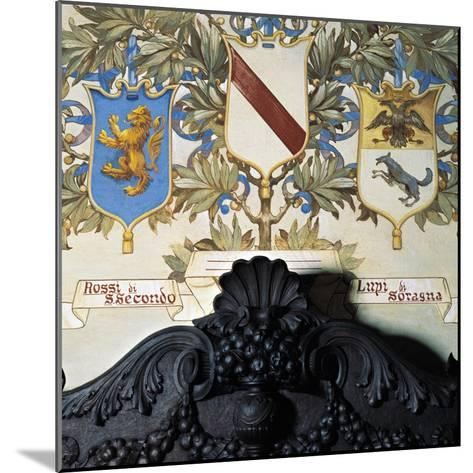 Family Coat-Of-Arms--Mounted Giclee Print