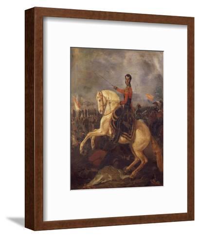 General Antonio Jose Sucre--Framed Art Print