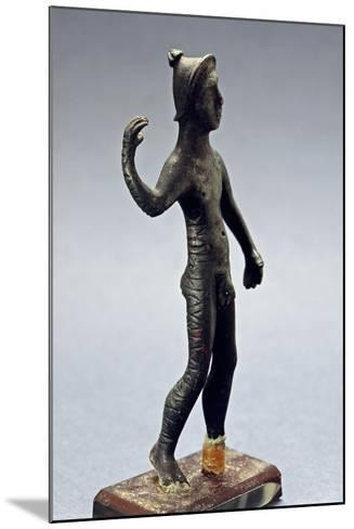 Small Bronze Figurine with Paleovenetian Inscription from Lagole--Mounted Giclee Print