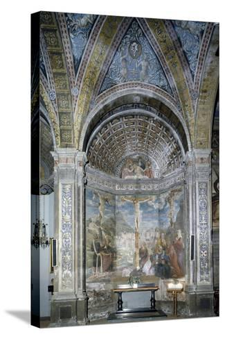 The Crucifixion and the Pietaes in the Chapel of the Crucifixion--Stretched Canvas Print