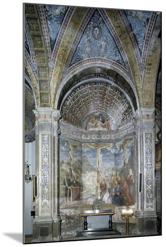 The Crucifixion and the Pietaes in the Chapel of the Crucifixion--Mounted Giclee Print