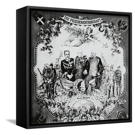Kings William I--Framed Canvas Print