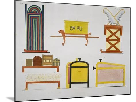 Furniture-Ippolito Rosellini-Mounted Giclee Print