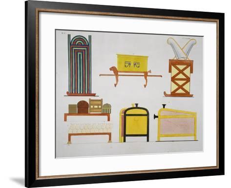 Furniture-Ippolito Rosellini-Framed Art Print