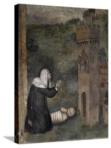 Stories of Monna Tancia-Lumberto Da Montevarchi-Stretched Canvas Print