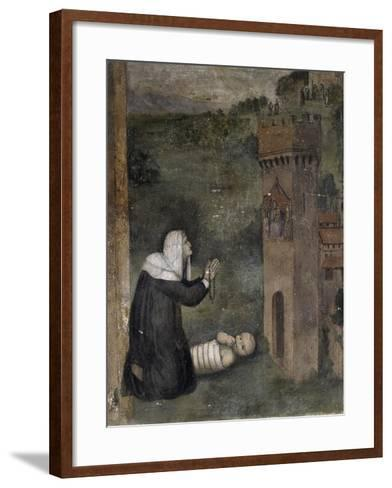 Stories of Monna Tancia-Lumberto Da Montevarchi-Framed Art Print