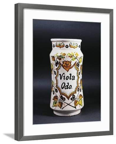 Viola Odo Apothecary Jar--Framed Art Print