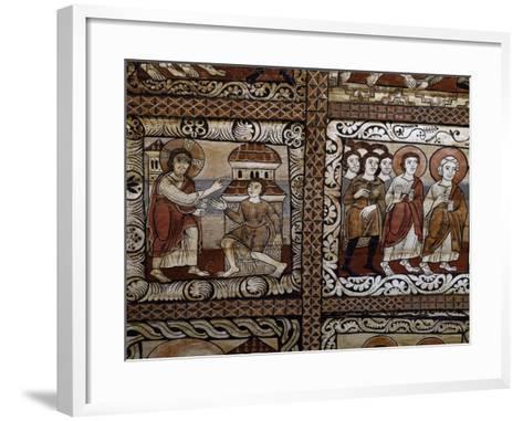Healing of Sick--Framed Art Print