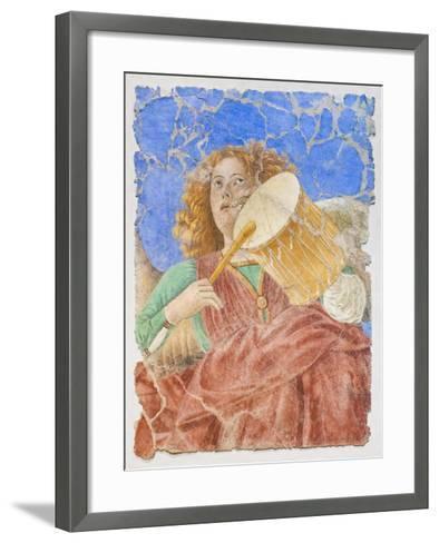 Music Making Angels--Framed Art Print