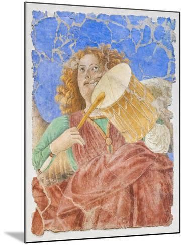Music Making Angels--Mounted Giclee Print