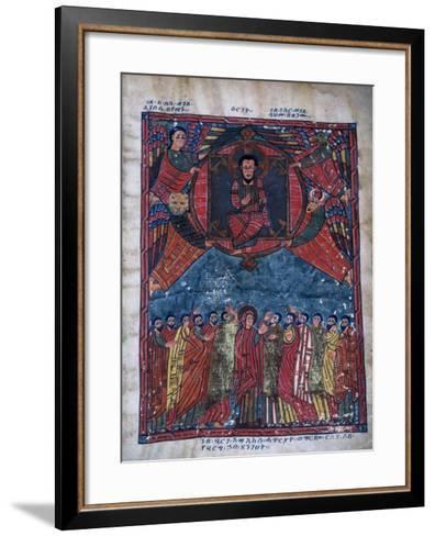Sacred Scene from Bible--Framed Art Print
