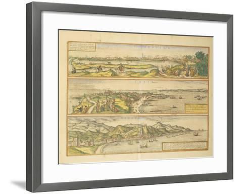 Maps of Seville--Framed Art Print