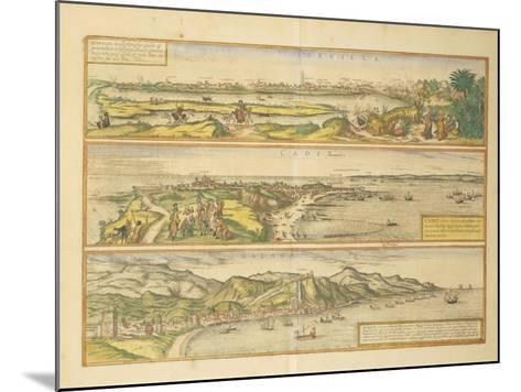 Maps of Seville--Mounted Giclee Print