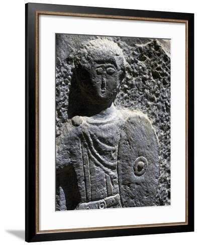 Face of Deity--Framed Art Print