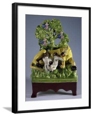 Group with Romulus--Framed Art Print