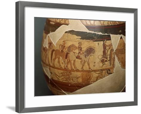 Olpe Chigi--Framed Art Print