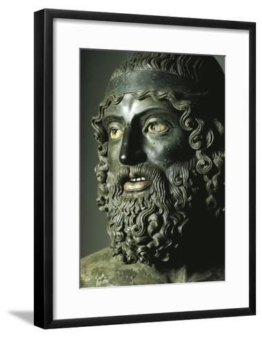 Riace Bronzes--Framed Art Print