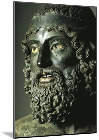 Riace Bronzes--Mounted Giclee Print