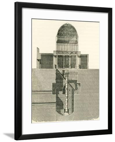 The Nilometer--Framed Art Print