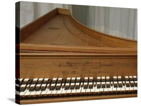 Harpsichord--Stretched Canvas Print